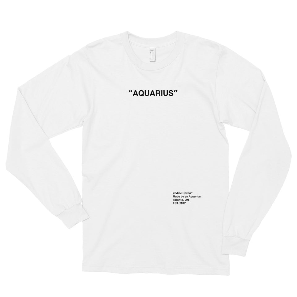 """Aquarius"" Graphic Tee"