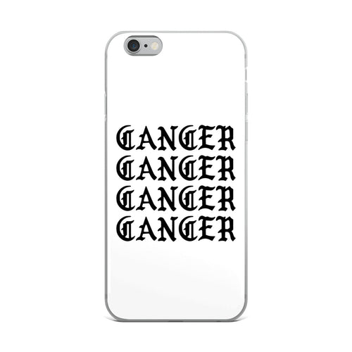 Cancer Gothic iPhone Case