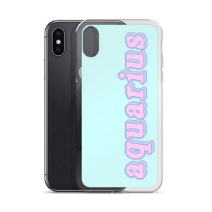 Cotton Candy Aquarius iPhone Case