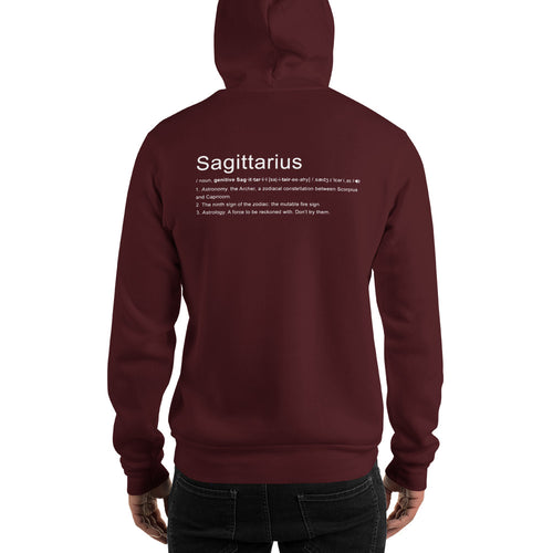 Define Your Sign Unisex Hoodie (Sagittarius)