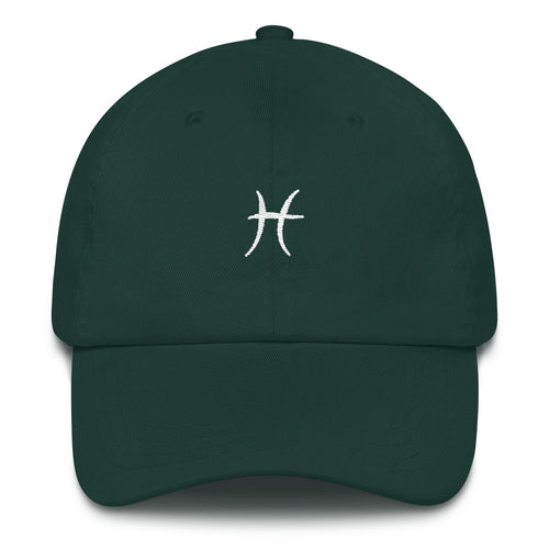 Pisces Symbol Dad hat