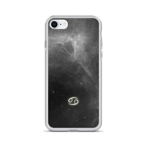 Cancer Grey Galaxy iPhone Case