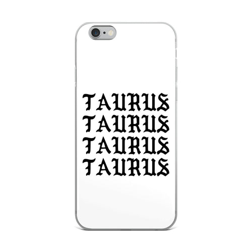 Taurus Gothic iPhone Case