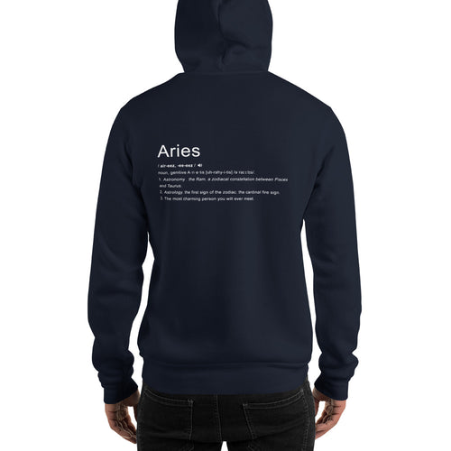 Define Your Sign Unisex Hoodie (Aries)
