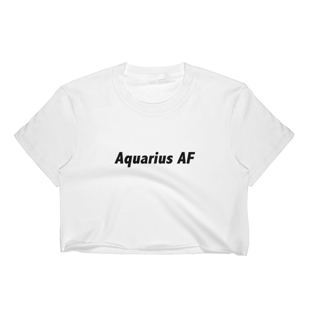 Aquarius AF Women's Crop Top