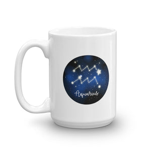 Aquarius Star Mug