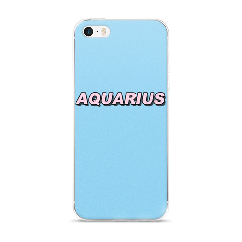 Retro Aquarius iPhone Case