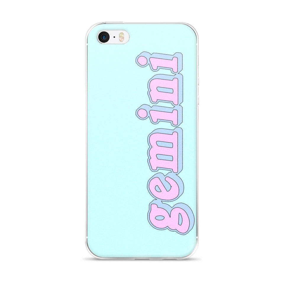 Cotton Candy Virgo iPhone Case