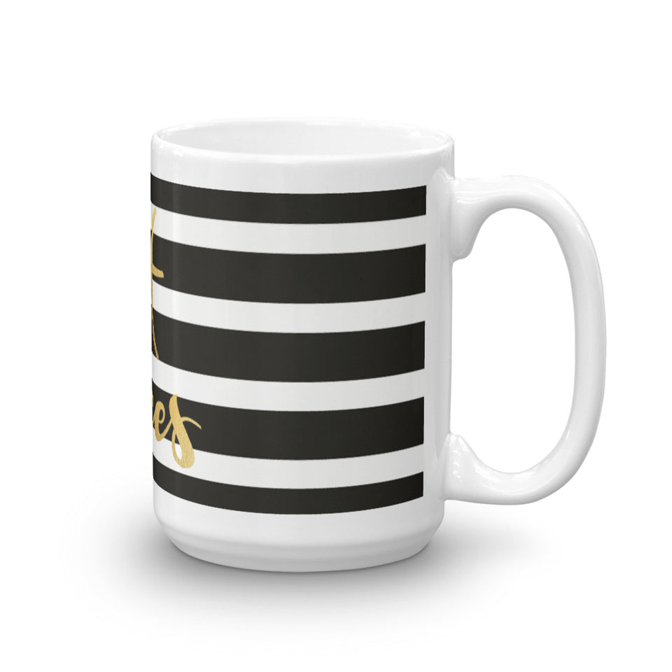 Striped Pisces Mug