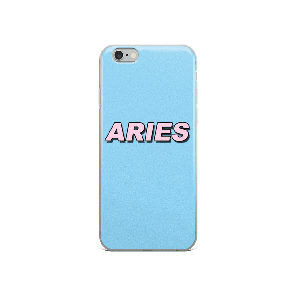 Aries Retro iPhone Case