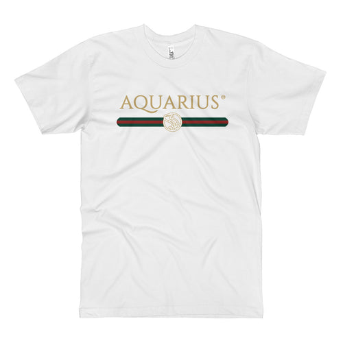Gucci Inspired Graphic Tee (Aquarius)