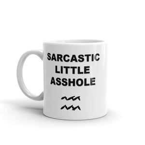 Rude Fucking Aquarius Mug