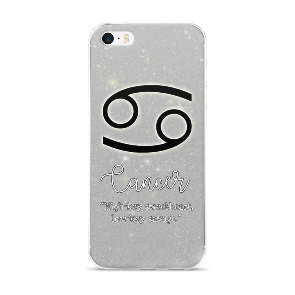 Cancer Quote iPhone Case
