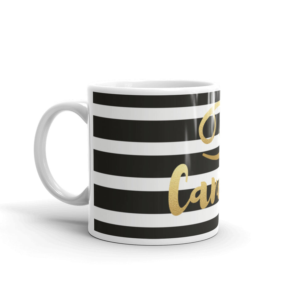 Cancer Striped Mug