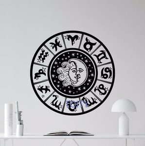 Zodiac Sign Wall Decal