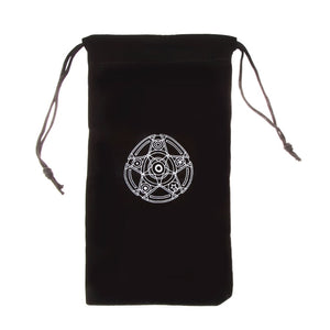 Velvet Pentagram Tarot Card Bag
