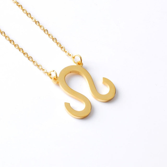 Zodiac Symbol Necklace (Gold, Silver, Rose Gold)