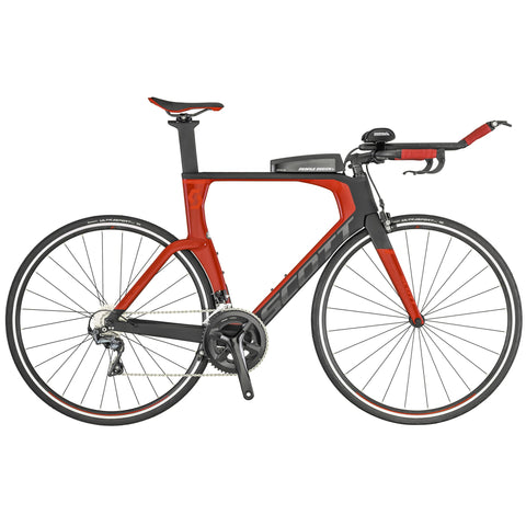 2019 Scott Plasma 10 Triathlon Bike Black/Red - Triathlon LAB