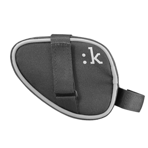 FIZIK Small LINK Saddle Bag with Velcro Straps - Anthracite - Triathlon LAB