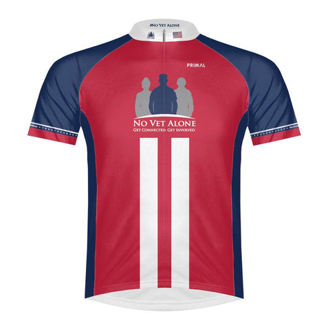 Mens No Vet Alone Cycling Jersey