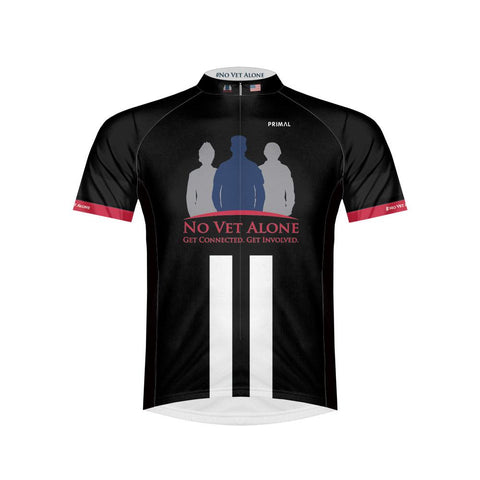 Mens No Vet Alone Cycling Jersey - Triathlon LAB