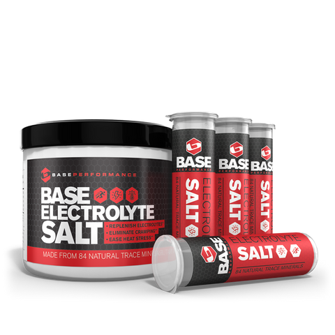 BASE Electrolyte Salt w/ 4  Race vials - Triathlon LAB