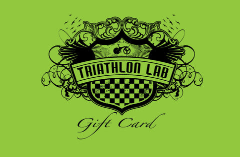 Triathlon LAB E-Gift Certificate (valid at Triathlonlab.com only, not valid in-store) - Triathlon LAB