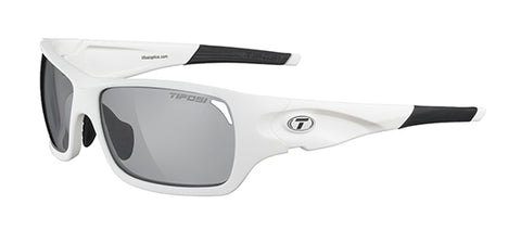 Duro Matte White Sunglasses  - Tifosi (photochromatic) - Triathlon LAB