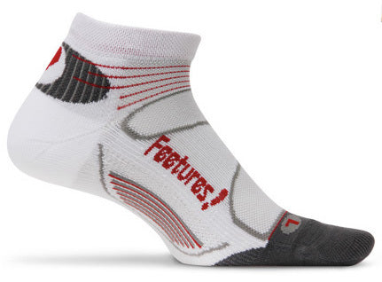 Feetures! Elite Light Cushion Low Cut Socks - Triathlon LAB