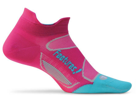 Feetures! Elite Ultra Light No Show Tab Socks - Triathlon LAB