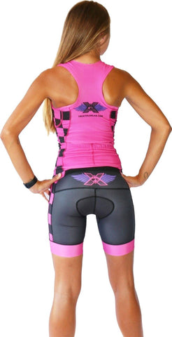 Women's RacerX 'Hot Pink' Triathlon Top - Triathlon LAB