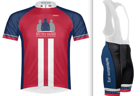 Mens No Vet Alone Cycling Kit - Triathlon LAB
