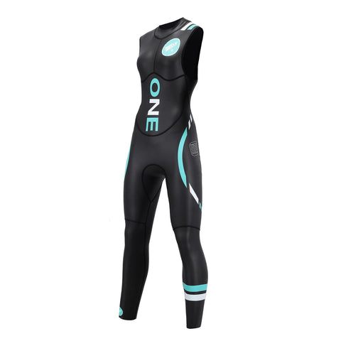 Womens Rocket Science Sports One Wetsuit Sleeveless - Triathlon LAB