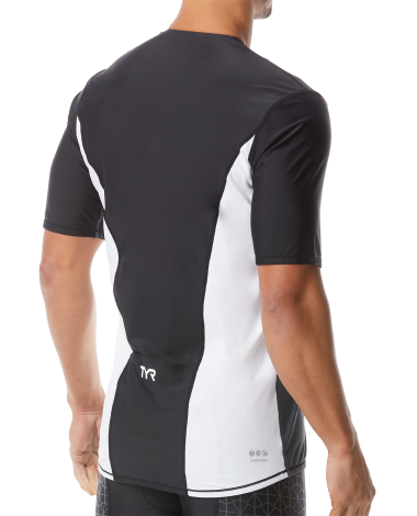 Mens TYR Competitor Short Sleeve Top - Triathlon LAB