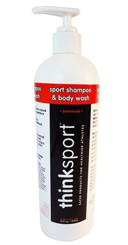 Thinksport Shampoo & Body Wash 16oz - Triathlon LAB