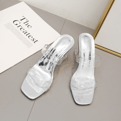 Ohichiic Transparent Sexy Hot Sale Slipper Sandals