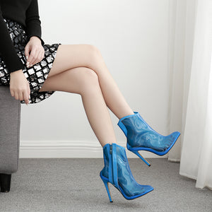 Sexy scotch ankle boots