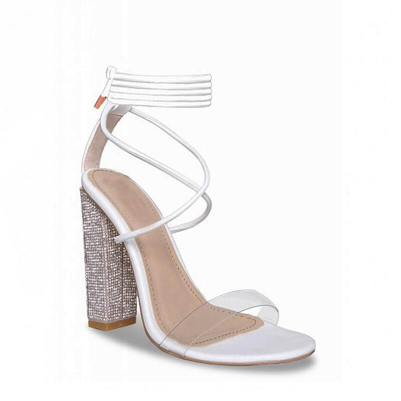 f18119165ae Butterfly Knot high Heel sandals