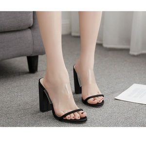 Fashion word with women's sandals and slippers