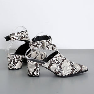 Fashion baotou cingulate thick with sandals
