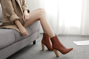 Cool chunky boots with ankle boots