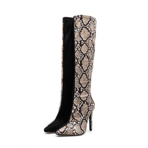 Snakeskin splicing point fine with elastic boots