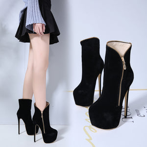 Stylish and comfortable classic nude boots