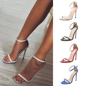 Women Sexy Buckle Sandals Sexy Party Shoes