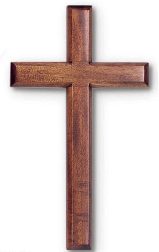 Solid Mahogany Wood Wall Cross 6