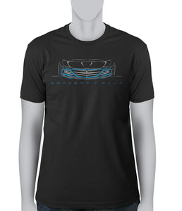 © Concept Blue Car - T-Shirt