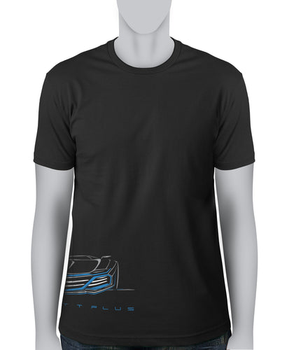 © Concept Blue Car - T-Shirt (FBRG)