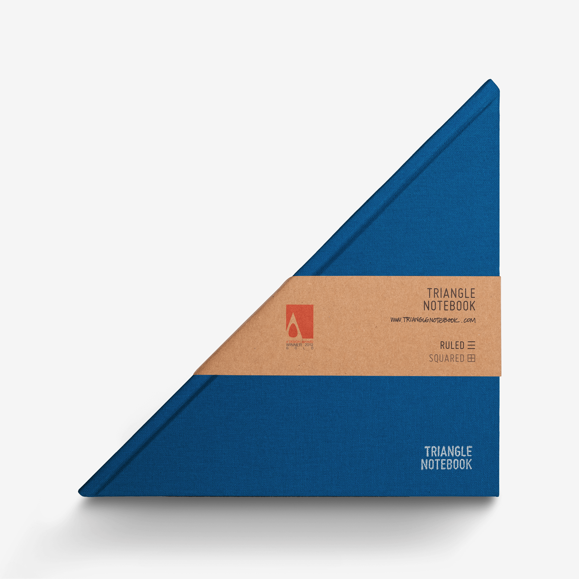 Triangle Notebook - Classic Blue