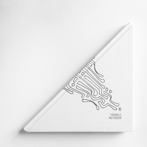 Triangle Notebook - Triangle Thoughts (Special Edition)