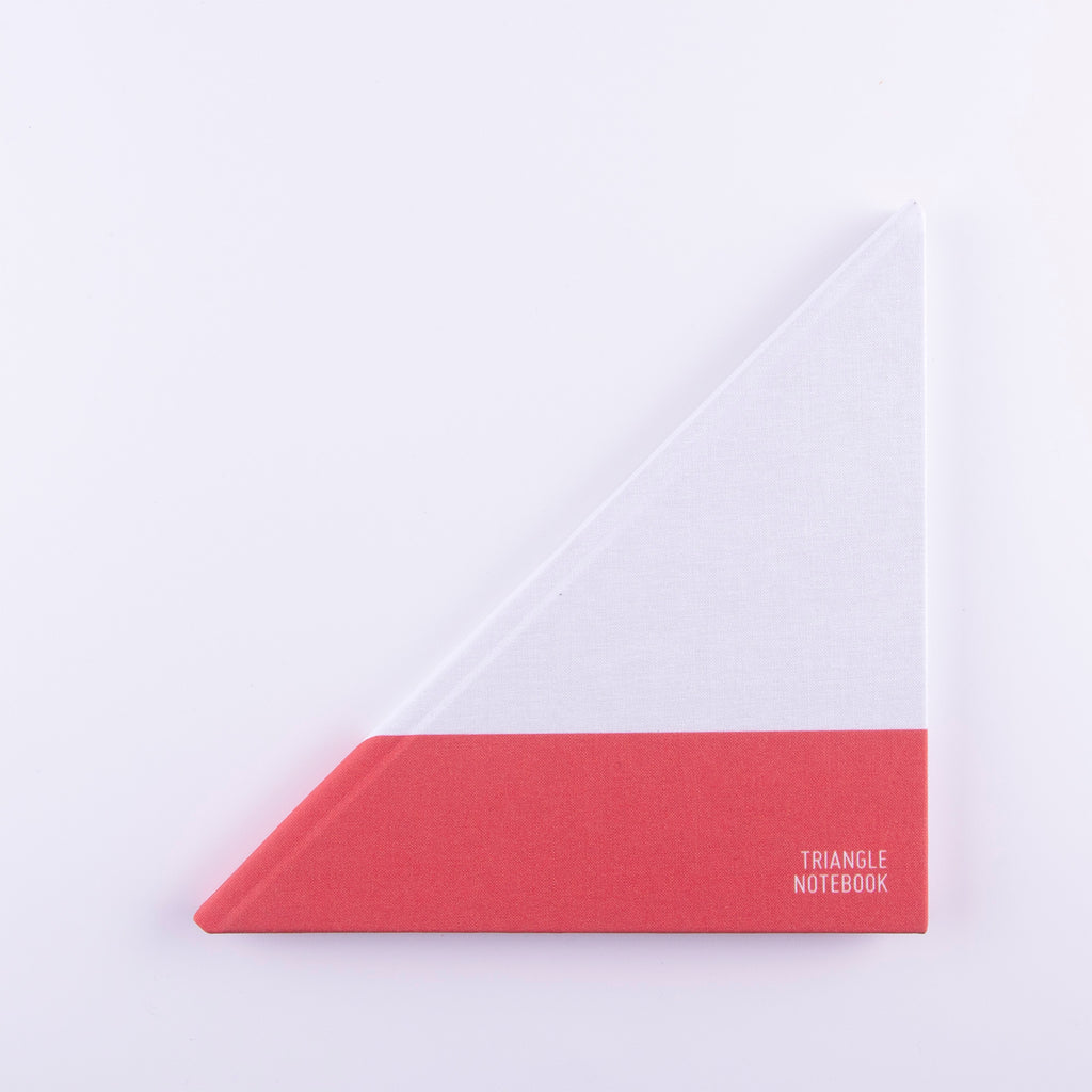 Triangle Notebook - Yachtsman Edition - Red